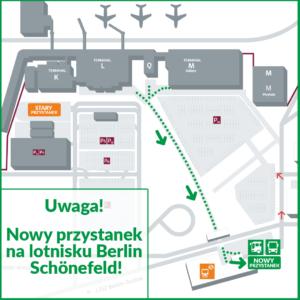 Nowy przystanek na lotnisku Berlin Schönefeld.