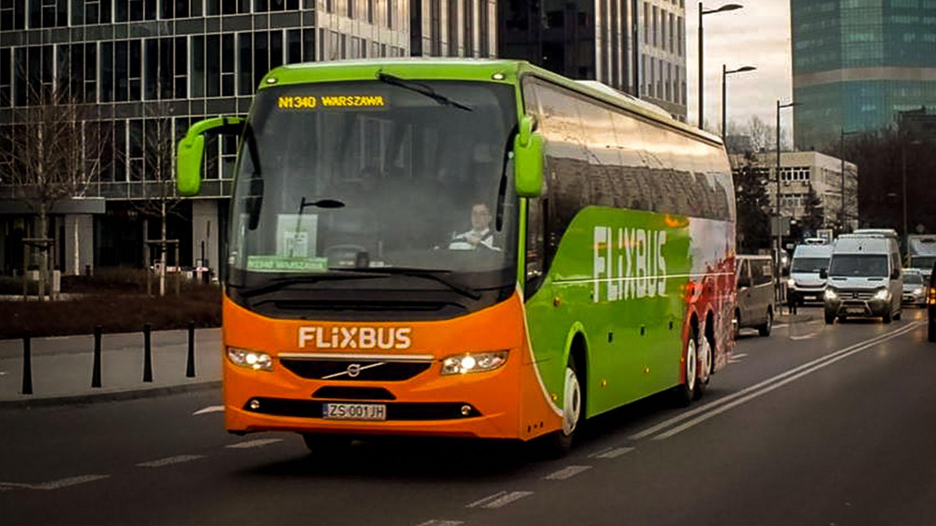 Flixbus Berlin Stettin