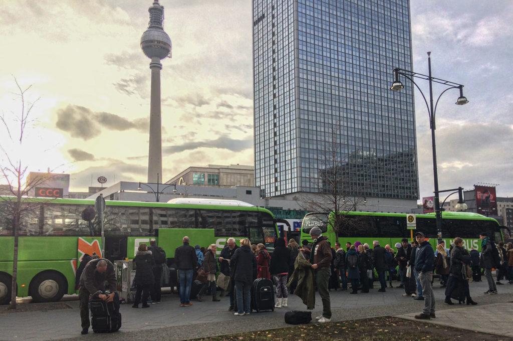 Rozkład jazdy Szczecin Berlin Alexanderplatz. Lokalizacja przystanku Berlin Alexanderplatz