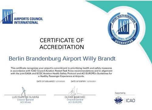 berlin ber, lotnisko ber, pierwsze lotnisko w niemczech, najwyższy poziom bezpieczeństwa, airport health, berlin brandenburg, follow me, interglobus, szczecin
