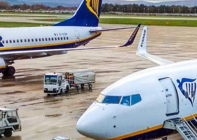 Procedury sanitarne podczas lotu